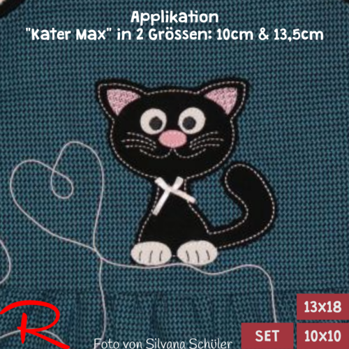 Applikation Kater Max