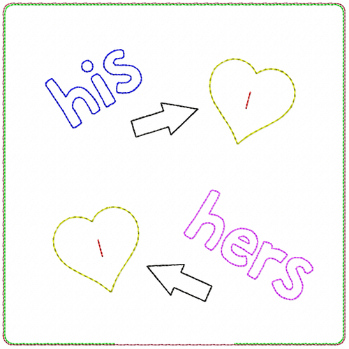 ITH Ringkissen his&hers