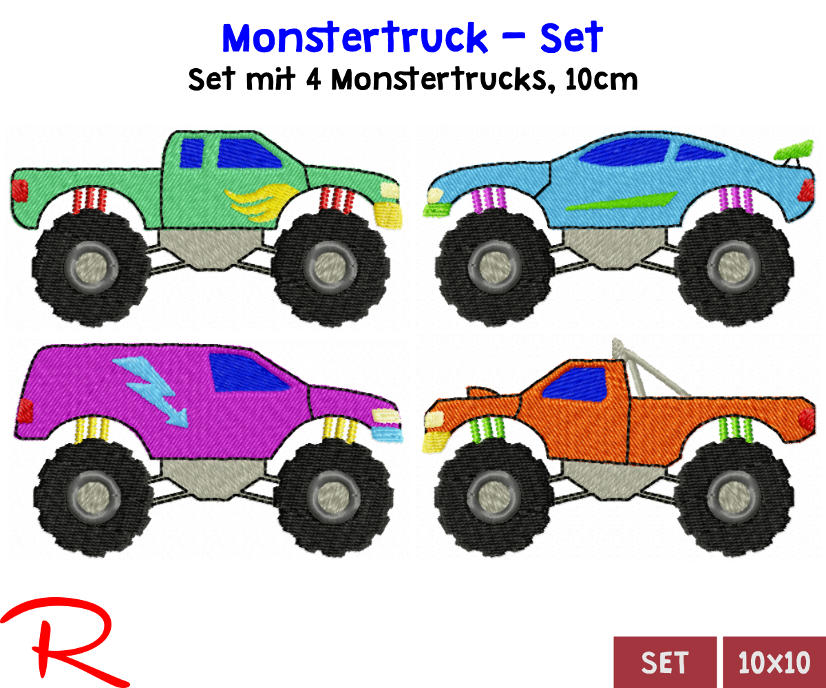 Monstertrucks Set